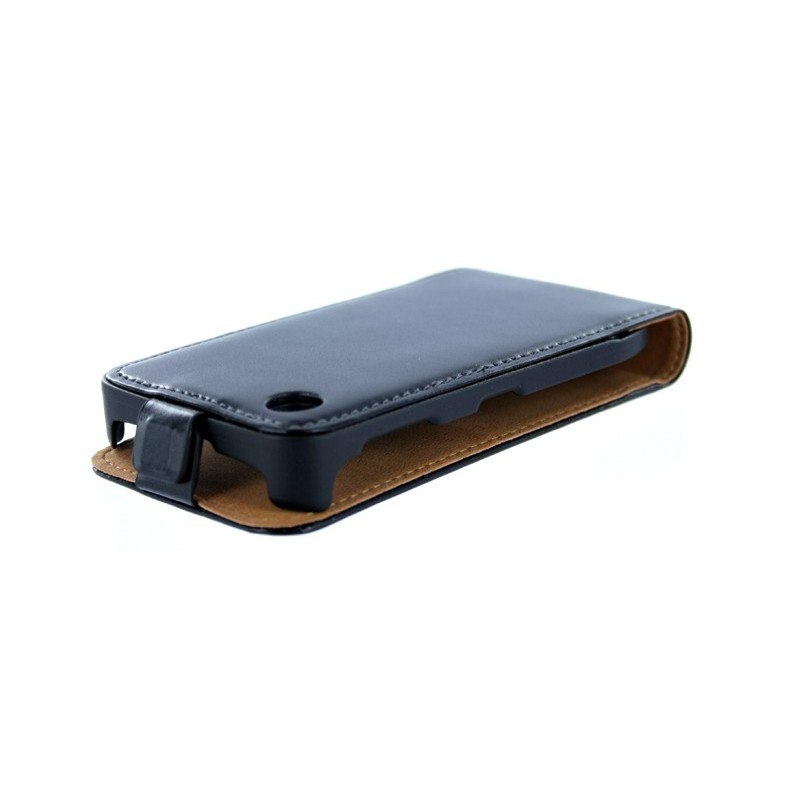 Housse de protection en cuir v ritable pour iphone 3g et for Housse iphone 3g