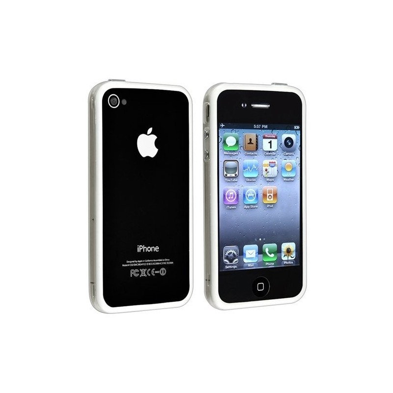 bumper transparent iphone 4 4s micro techno canada. Black Bedroom Furniture Sets. Home Design Ideas