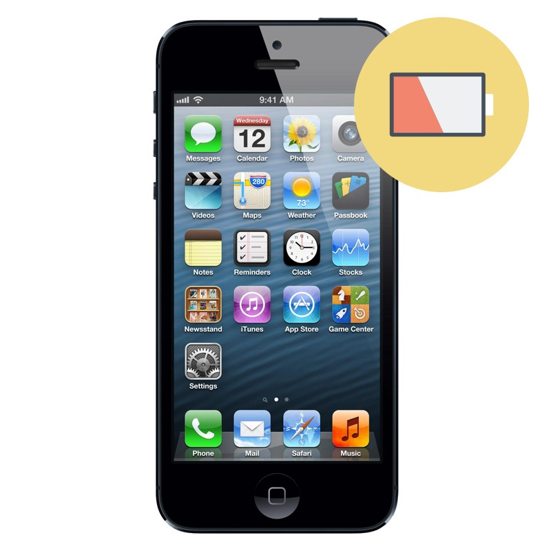repair service battery iphone 5 replacement battery iphone 5. Black Bedroom Furniture Sets. Home Design Ideas