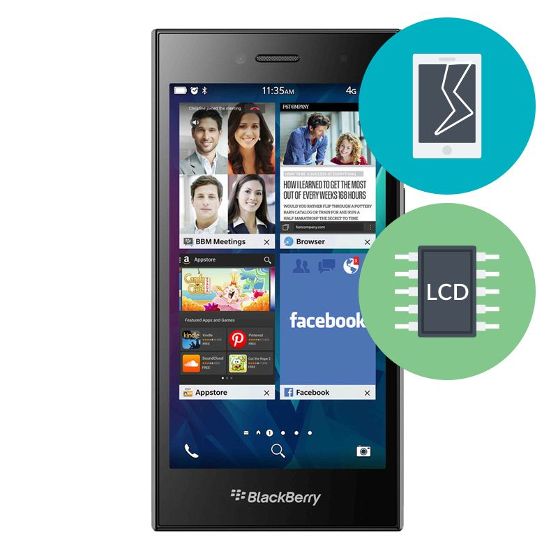 R paration ecran blackberry leap micro techno canada for Photo ecran blackberry