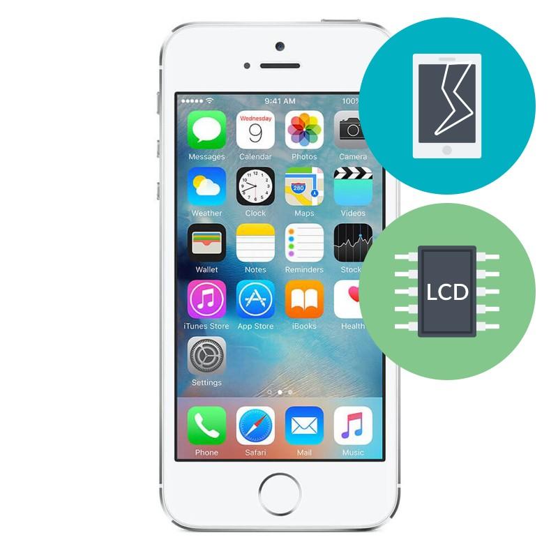 r paration ecran lcd iphone se micro techno canada. Black Bedroom Furniture Sets. Home Design Ideas