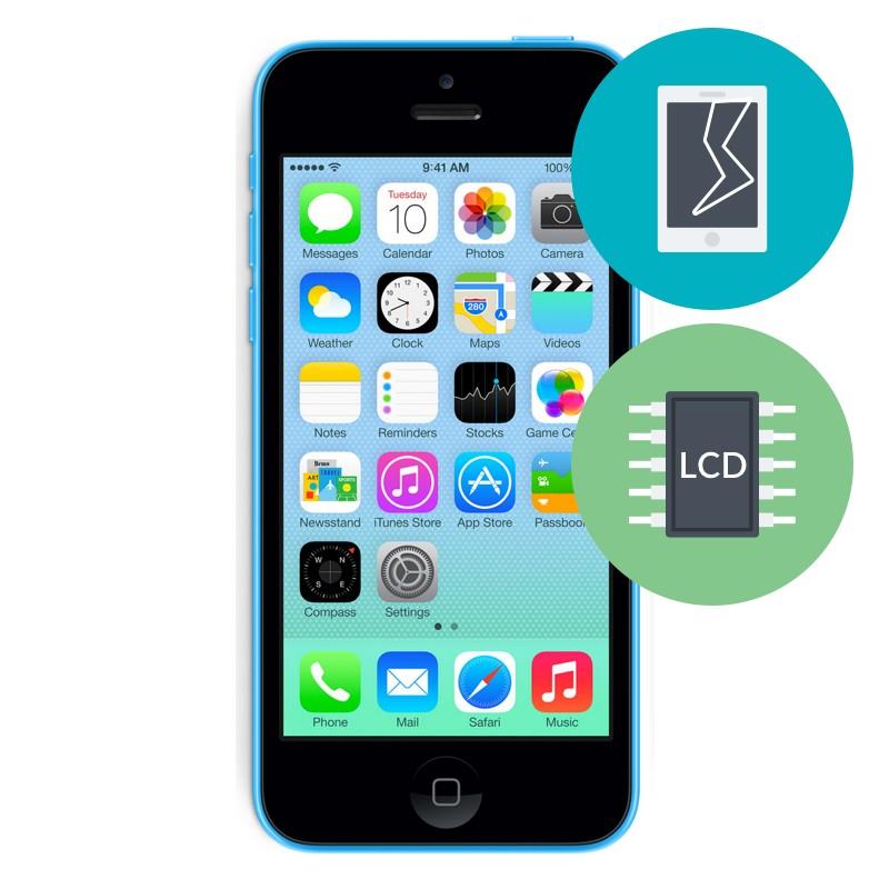 r paration ecran iphone 5c r parer iphone 5. Black Bedroom Furniture Sets. Home Design Ideas