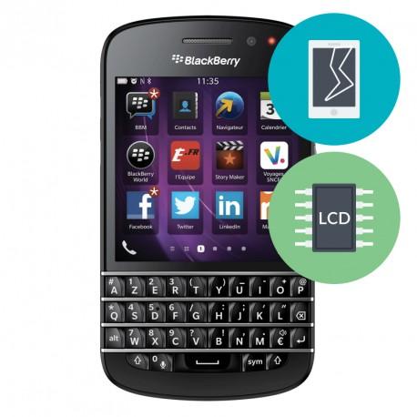 Réparation Ecran BlackBerry Q10