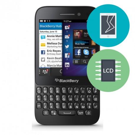 Réparation Ecran BlackBerry Q5