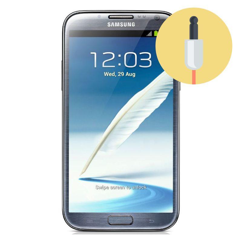 Réparation Prise Jack Samsung Galaxy Note 2 - Micro-Techno Montréal