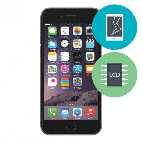 r parer ecran bris sur iphone 6s r parateur iphone 6s. Black Bedroom Furniture Sets. Home Design Ideas