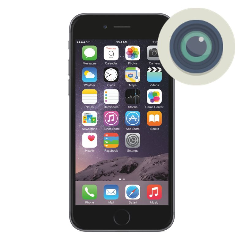 online store 8c62d 51f3d iPhone 6 Camera Lens Repair
