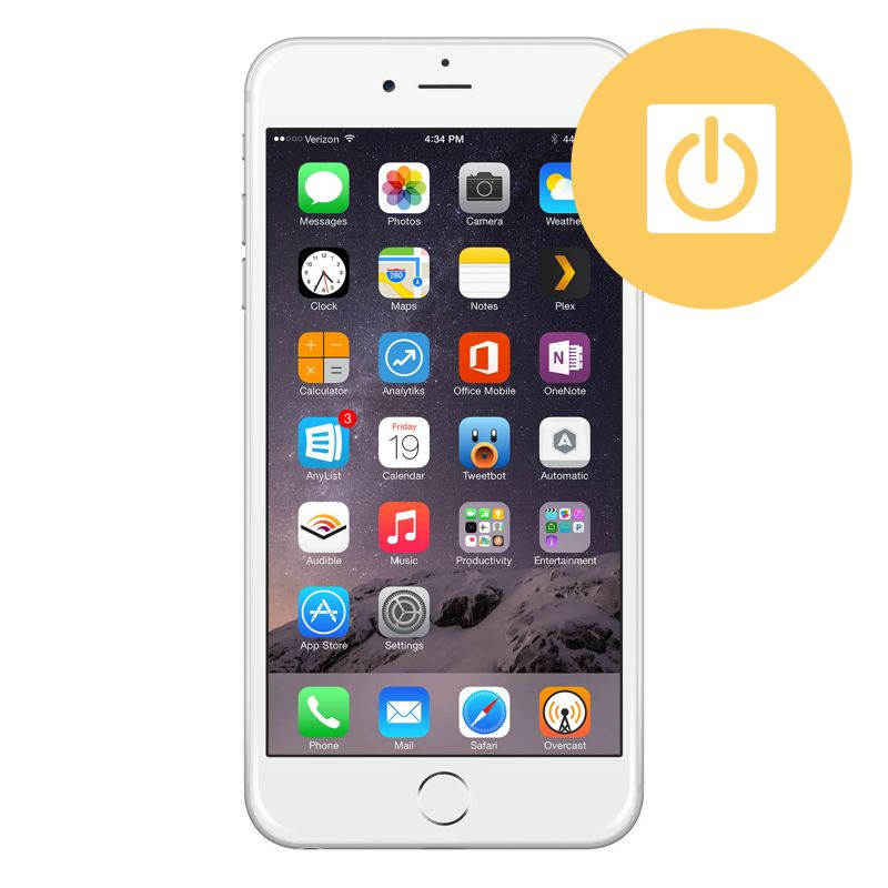 los angeles ae77c 5df69 iPhone 6 Plus Power Button Repair