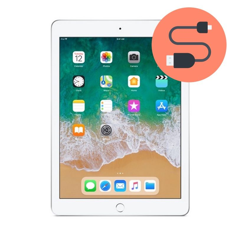 Ipad 6 2018 Charging Port Replacement Apple Tablet Repair Montreal - How To Fix Loose Charging Port On Tablet