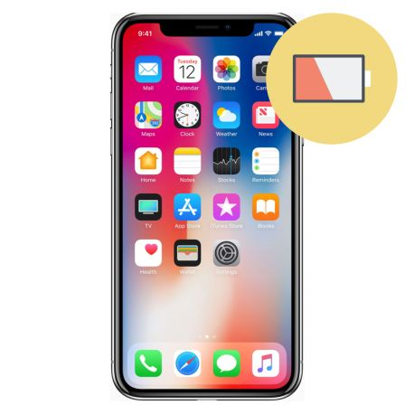 Remplacement Batterie iPhone X