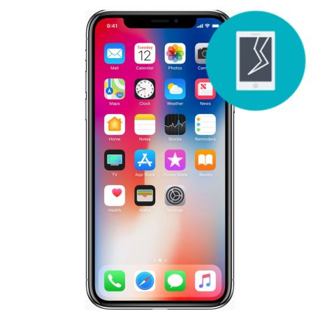 IPhone X Glass only repair
